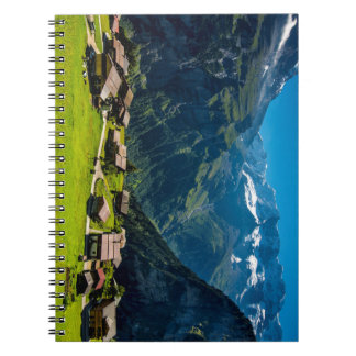 Gimmelwald In Swiss Alps - Switzerland Notebook