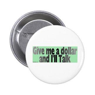 gimmie_dollar 2 inch round button