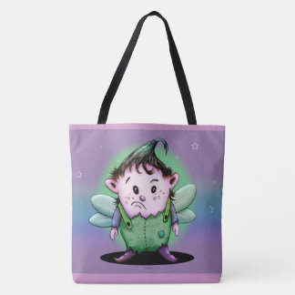 GIMY ALIEN CUTE CARTOON TOTE BAG