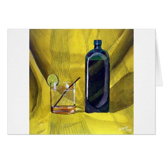 Gin Fizz Card