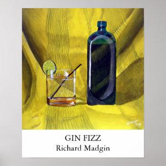 Gin Fizz Poster