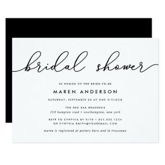 Gin Lane | Bridal Shower Invitation