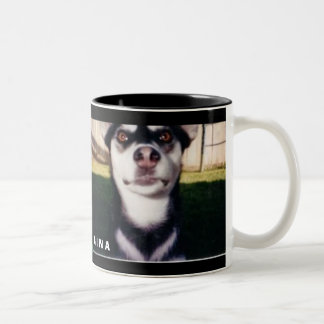 GINA Two-Tone COFFEE MUG