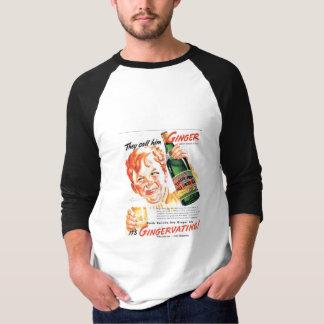 Ginger Ale Gingervatin' 1930s Advertisement T-Shirt
