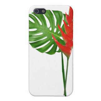 Ginger and Monstera Bouquet iPhone 5 Covers