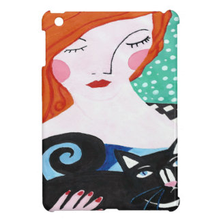 Ginger and the Cat Case For The iPad Mini