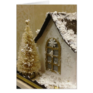 Ginger Bread House Christmas Card