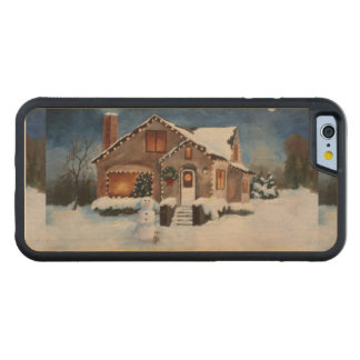 Ginger Bread House Carved® Maple iPhone 6 Bumper