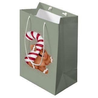 Ginger Bread Medium Gift Bag