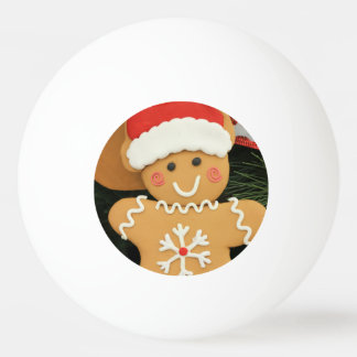 Ginger bread ping pong ball