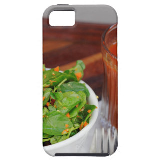 Ginger Carrot Tomato Dressing Watercress Salad iPhone 5 Case