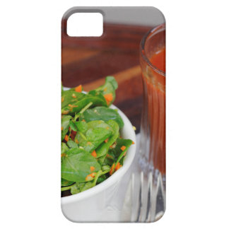 Ginger Carrot Tomato Dressing Watercress Salad iPhone 5 Cover
