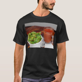 Ginger Carrot Tomato Dressing Watercress Salad T-Shirt