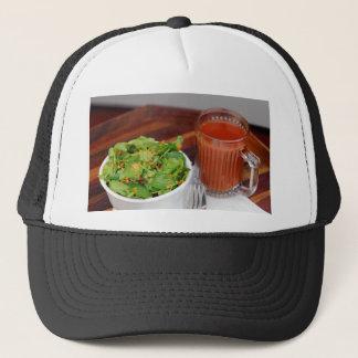 Ginger Carrot Tomato Dressing Watercress Salad Trucker Hat
