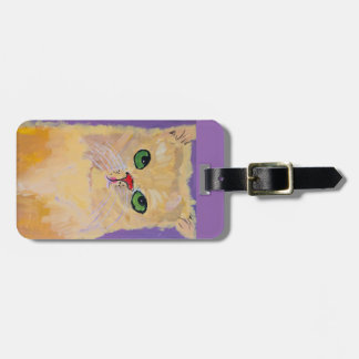 Ginger Cat Luggage Tag