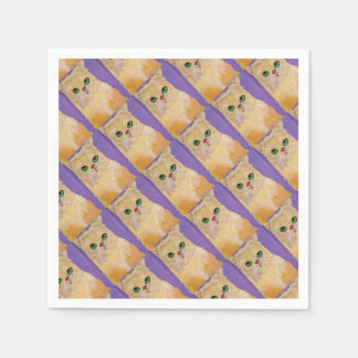 Ginger Cat Party Napkin Disposable Napkins