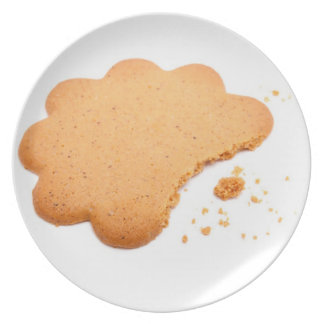 Ginger Cookie Party Plate