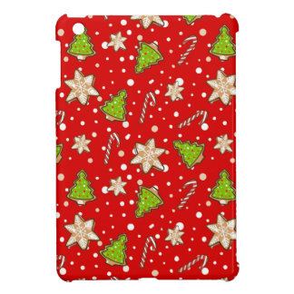 Ginger cookies Christmas pattern iPad Mini Case