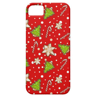 Ginger cookies Christmas pattern iPhone 5 Case