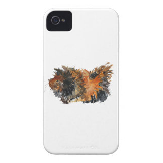 Ginger Fluffy Guinea Pig Watercolour Painting Case-Mate iPhone 4 Case