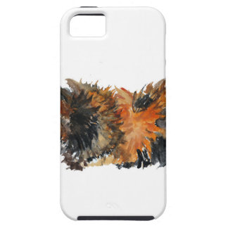 Ginger Fluffy Guinea Pig Watercolour Painting iPhone 5 Case