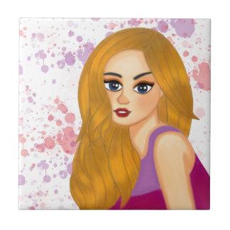 Ginger hair tile