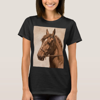 Ginger horse from Black Beauty book by Sewell T-Shirt