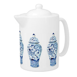 Ginger Jar Teapot