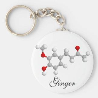 Ginger Keychain
