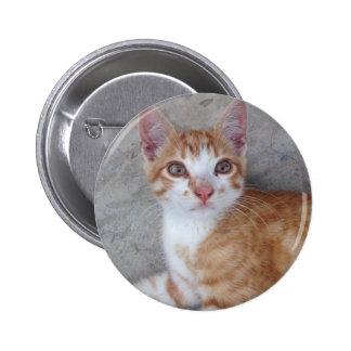 Ginger Kitten 2 Inch Round Button