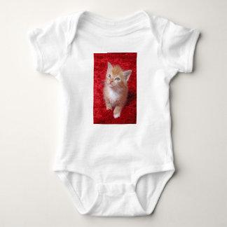 Ginger Kitten Baby Bodysuit
