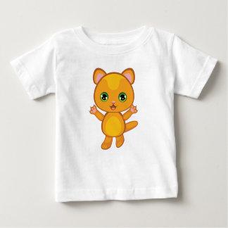 Ginger Kitten Cartoon2 Baby T-Shirt