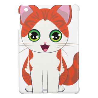 Ginger Kitten Cartoon iPad Mini Covers