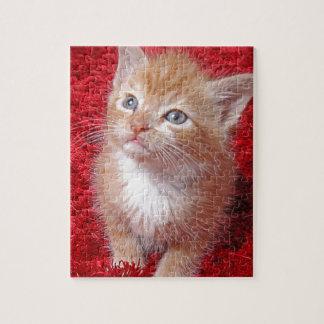 Ginger Kitten Jigsaw Puzzle