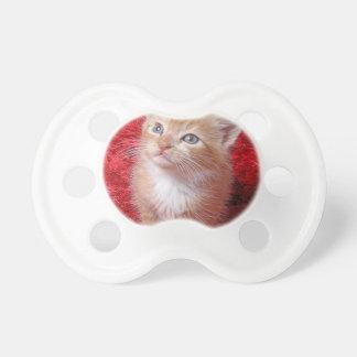 Ginger Kitten Pacifier