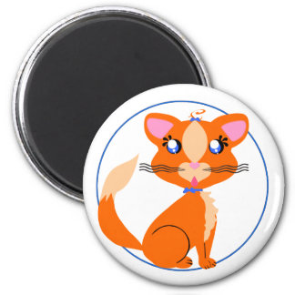 Ginger Kitty Toon Magnet