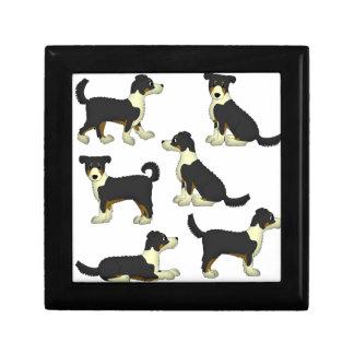 Ginger little dog gift box