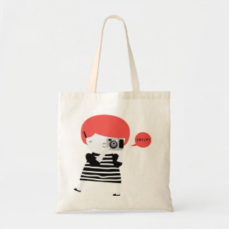 Ginger photographer tote bag