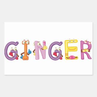 Ginger Sticker