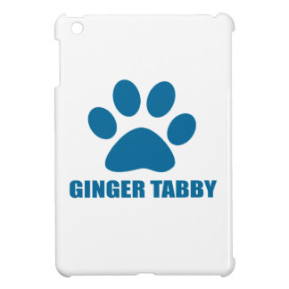 GINGER TABBY CAT DESIGNS COVER FOR THE iPad MINI