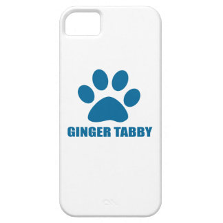 GINGER TABBY CAT DESIGNS iPhone 5 COVERS