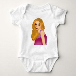 ginger-trans baby bodysuit