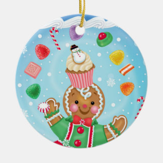 Gingerbread and Candy Ornament