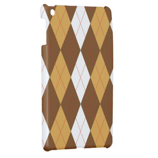 GingerBread Argyle Cover For The iPad Mini