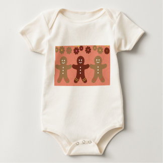 gingerbread Baby American Apparel Organic Bodysuit