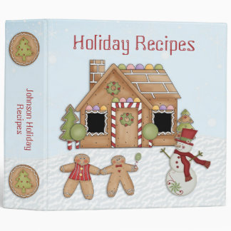 Gingerbread Binder