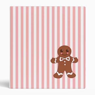 Gingerbread Boy Binder