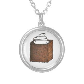 Gingerbread Cake Foodie Christmas Holiday Necklace