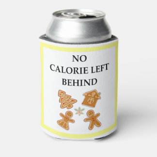 gingerbread can cooler
