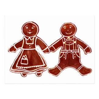 Gingerbread Children 3 The MUSEUM Zazzle Gifts Postcard